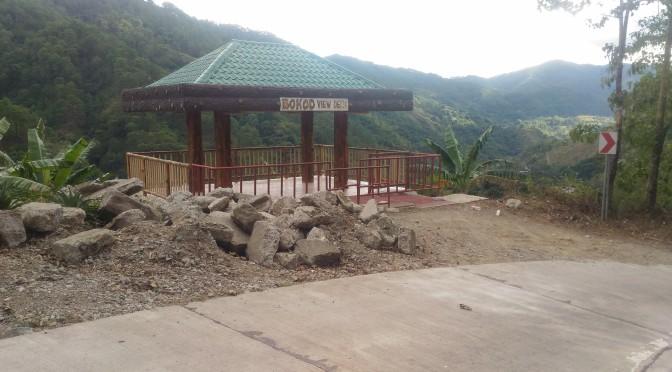 Viewing Poblacion Bokod from the Deck
